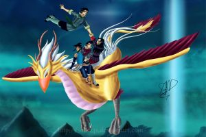 Korra and the Krew by sam241