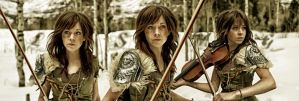 Lindsey Stirling - Skyrim by TheEmGee
