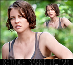 Retouch - Maggie of TWD by RavenLSD