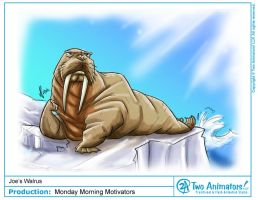 """W"" is for Walrus by 2Ajoe"