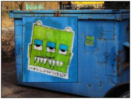 MONSTERGARBAGE by hollow-welt