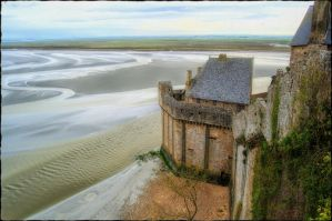 A day at Mont-Saint-Michel IV by kakobrutus