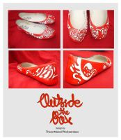 Pattern on Red by OSTB