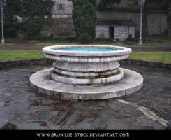 Piona's Abbey - Fountain III by brunilde-stock