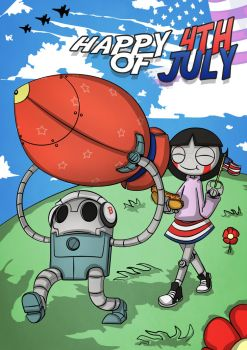 Happy 4th Of July by RagingDroidX