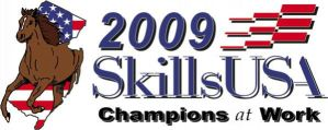 SkillsUSA 2009 NJ Shirt Logo by NerdySimmer