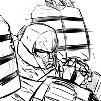 FOC Megatron Sketch by Tess-27