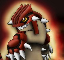 Groudon by 29steph5