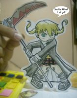 Paper Child: Maka Albarn by jakks004