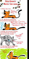 My Warrior Cat Meme!! :D by Bluebird9209