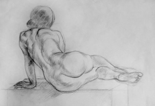 Figure drawing 3 Jan by cleverdisguise