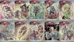 Marvel Masterpieces 3 AP cards by jimmymcwicked