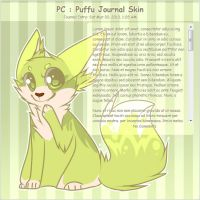 .: PC : Puffu Journal Skin :. by Yuminn