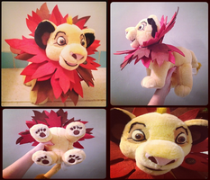 TLK-Limited Edition Disney Store Simba Plushie by KrazyKari