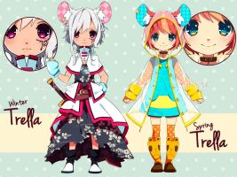 [ADOPTABLES] Trella batch03 [CLOSED] by inma
