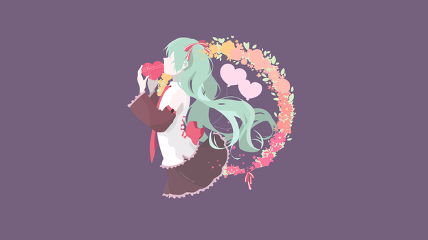 [Contest-entry][Valentines] Hatsune Miku by Hespen