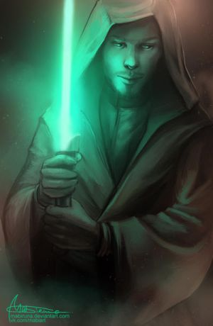 Jedi concept for one nice man by Mabiruna