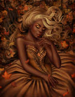 Golden Autumn by Enamorte