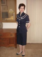 Navy suit by ColeV