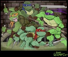 TMNT by Adam-Leonhardt