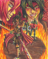The Demon Leader of the Kunnai by DragonGirl-Lucky-13