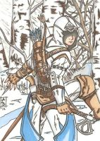 Connor Kenway ACIII SC by Elvatron