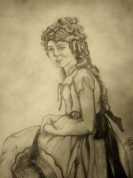 Mary_Pickford_by_sketchfanatic by PortraitPencilArt