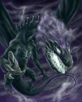 StormDrake WIP by TheCreationist