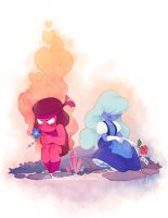 Rubies are Red by Dlie