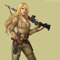 WW2 / Wasteland 2 Ranger - Claudia by Lionel23