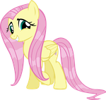 Wet Mane Fluttershy by Doctor-G