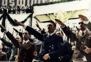 Adolf Hitler (in colour) 7 by Julia-Koterias