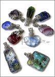 Pendants IX by Faeriedivine