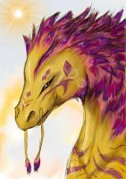 Golden Dragon by KajatheDog