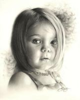 Child Portrait Commission by golfiscool