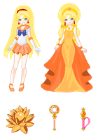 Queen Venus Pixel by nads6969