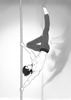 Poledancing by The-Manticore