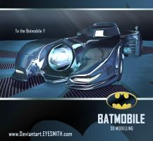 Keaton's Batmobile by Eyesmith