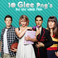 1O Glee Png's by OnlySweetGirl