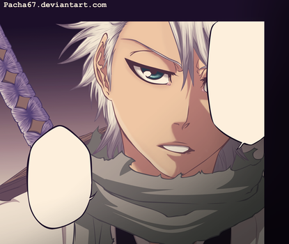 Bleach 461 toshiro by One67