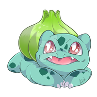 001 - Bulbasaur by RuizaUniverse