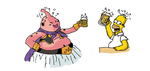 Homer Buu Drunk by Luigin-buu