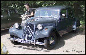 1955 Citroen Traction Avant by compaan-art
