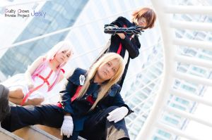 Guilty Crown: Trio by HRecycleBin