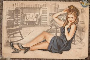 Pinups - Missing Her Boy by warbirdphotographer