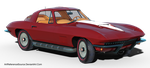Free Stock PNG:  67 Corvette by ArtReferenceSource