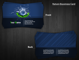 Nature Bussiness Card by Tooschee