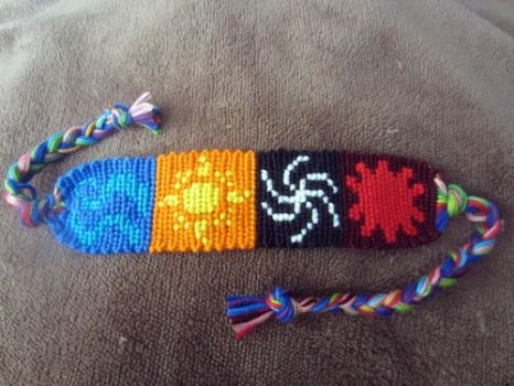 Beta Kids God Tier Bracelet by Bookworm1994
