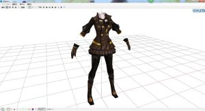 MMD - Perfect World Female Fashion 2 by DesmondChan