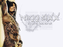 Nikki Sixx wallpaper by AdrienneTyler